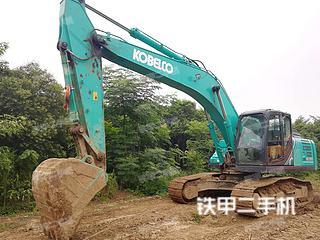 西安神钢SK250-10挖掘机实拍图片