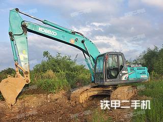 安徽-六安市二手神钢SK210LC-8挖掘机实拍照片
