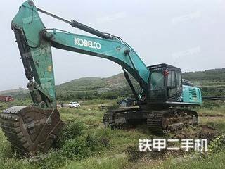 神钢SK380XD-10挖掘机实拍图片
