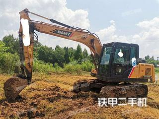 四川-内江市二手三一重工SY135C挖掘机实拍照片