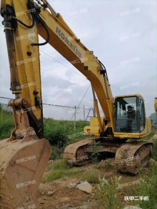 广东-肇庆市二手小松PC220-6E挖掘机实拍照片