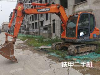山东-威海市二手斗山DX80挖掘机实拍照片