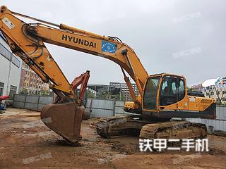 现代R305LC-9挖掘机实拍图片