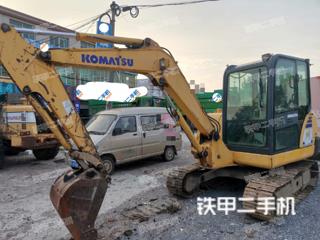镇江小松PC56-7挖掘机实拍图片