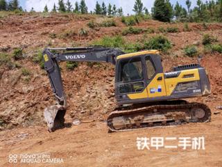 重庆沃尔沃EC120D挖掘机实拍图片