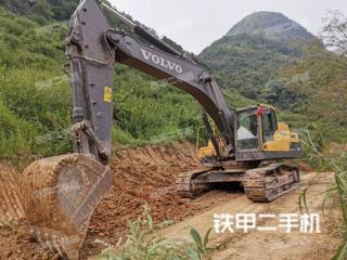 珠海沃尔沃EC350D挖掘机实拍图片