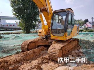 襄陽柳工CLG200-3挖掘機實拍圖片