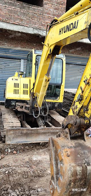 开县现代R60-7挖掘机实拍图片