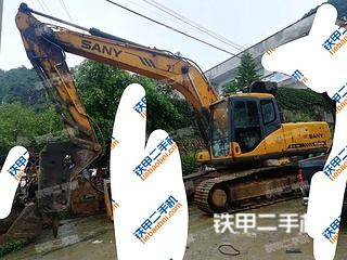 贵州-黔西南布依族苗族自治州二手三一重工SY215C挖掘机实拍照片