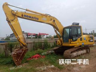 安徽-淮南市二手小松PC200-8挖掘机实拍照片