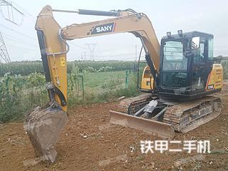 陕西-西安市二手三一重工SY75C挖掘机实拍照片