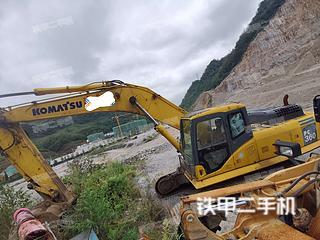 贵州-六盘水市二手小松PC360-7挖掘机实拍照片