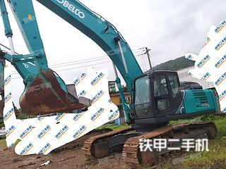 神钢SK350LC-10挖掘机实拍图片