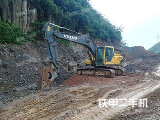 贵州-黔西南布依族苗族自治州二手沃尔沃EC210B挖掘机实拍照片