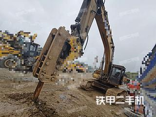 卡特彼勒345D挖掘机实拍图片