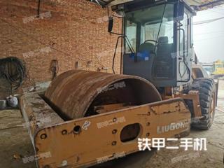陕西-渭南市二手柳工618A机械振动压路机实拍照片