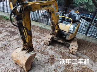 上海洋马Vio17挖掘机实拍图片