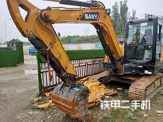 鹤岗三一重工SY55C挖掘机实拍图片