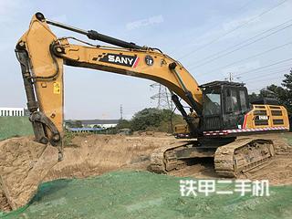 潍坊三一重工SY485H挖掘机实拍图片