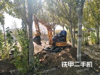 包頭玉柴YC25SR挖掘機實拍圖片