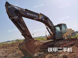 宜昌沃尔沃EC300DL挖掘机实拍图片