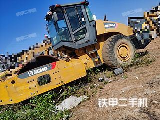 贵州-黔西南布依族苗族自治州二手徐工XS263J压路机实拍照片