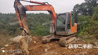 宜昌日立ZX70挖掘机实拍图片
