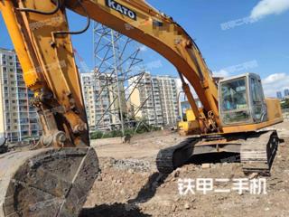 加藤HD1430R挖掘机实拍图片