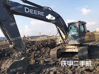 浙江-杭州市二手约翰迪尔E210挖掘机实拍照片