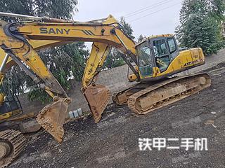 贵州-六盘水市二手三一重工SY215C挖掘机实拍照片