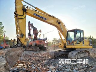浙江-杭州市二手小松PC200-8N1挖掘机实拍照片
