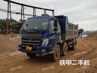 福田歐曼4X2工程自卸車實拍圖片
