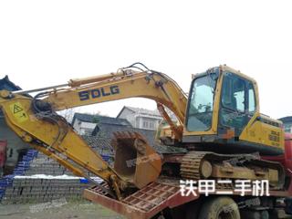 湖南-益阳市二手山东临工E6135F挖掘机实拍照片