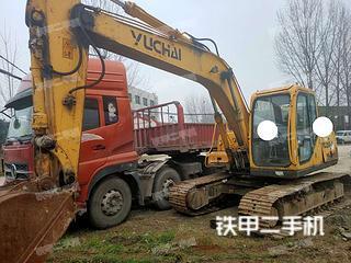 保定玉柴YC135-8挖掘機實拍圖片