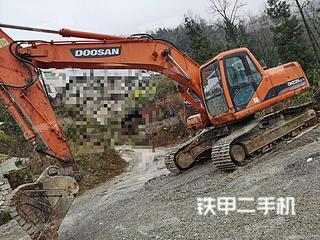 贵州-六盘水市二手斗山DH220LC-7挖掘机实拍照片