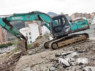 贵州-黔西南布依族苗族自治州二手神钢SK200-8挖掘机实拍照片