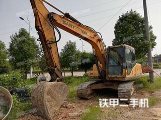 湖南-邵阳市二手三一重工SY135C-8挖掘机实拍照片