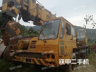 泰安東岳QY25起重機實拍圖片