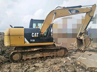 二手卡特彼勒挖掘机右后45实拍图226