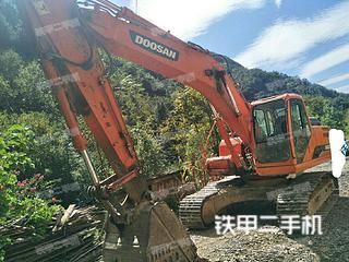陕西-商洛市二手斗山DH220LC-9E挖掘机实拍照片