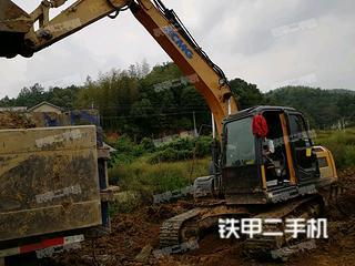湖南-衡阳市二手徐工XE135D挖掘机实拍照片