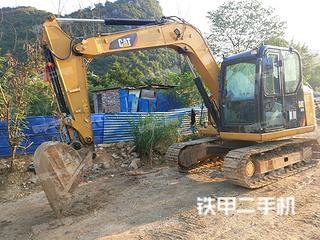广西-柳州市二手卡特彼勒307E液压挖掘机实拍照片