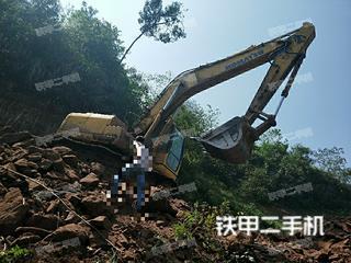 四川-达州市二手小松PC200-8挖掘机实拍照片