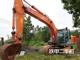 佛山日立ZX200-3国产挖掘机实拍图片