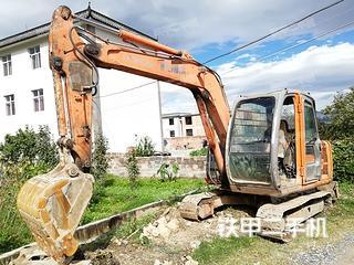 云南-大理白族自治州二手日立ZX60挖掘机实拍照片