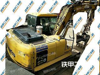 四川-达州市二手小松PC130-7挖掘机实拍照片
