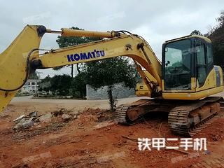 湖南-湘潭市二手小松PC130-7挖掘机实拍照片
