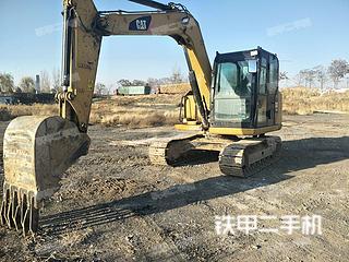 宁夏-银川市二手卡特彼勒307E液压挖掘机实拍照片
