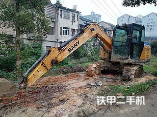 湖南-长沙市二手三一重工SY75C-9挖掘机实拍照片