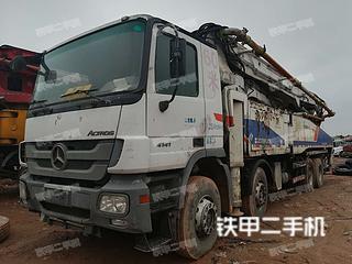 湖南-长沙市二手中联重科ZLJ5419THB 52X-6RZ泵车实拍照片